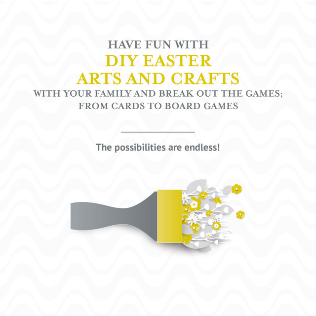 An Easter activity to do while you're at home!