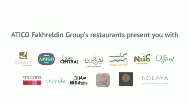 ATICO Fakhreldin Group launches new Reserve & Order Food Application, with an online delivery services, for the time being, from Fakhreldin, Kebab Express, Ren Chai, Yoshi, Trattoria and Vinaigrette